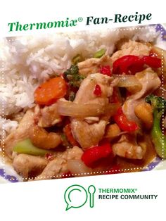 Thai Chicken with Cashews by Lisa.long@iinet.net.au. A Thermomix <sup>®</sup> recipe in the category Main dishes - meat on www.recipecommunity.com.au, the Thermomix <sup>®</sup> Community.