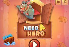 Ayuda a este Super Raton a salvar a sus amigos que están atrapado en la trampas de ratas, mira bien tus movimientos y trata de sacar a todos antes de llegar a la salida, cada nivel tienes que hacerlo bien para obtener las 3 estrellas.