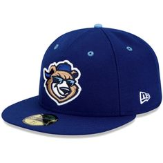 Daytona Cubs Authentic Road Fitted Cap - Cubs MiLB