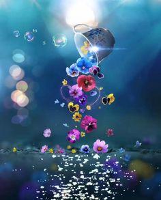 Wallpaper Nature Flowers, Iphone Wallpaper Video, Beautiful Landscape Wallpaper, Butterfly Wallpaper Iphone, Flower Background Wallpaper, Cute Wallpaper For Phone, Flower Backgrounds, Girl Wallpaper, Scenery Wallpaper