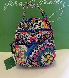 New With Tag Vera Bradley Lunch Bunch box bag In Rio #VeraBradley