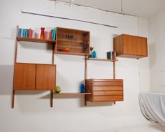 Mid Century Danish Modern CADO Wall Unit in Teak by Poul Cadovius on Etsy, $2,850.00