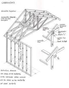 CONSTRUCCIONES: CUBIERTAS                                                                                                                                                                                 Mais