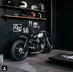 #interior #design #motorcycle #bikeshop
