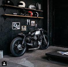 #interior #design #motorcycle #bikeshop