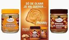 Nova Manteiga de Amendoim Calvé