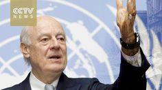 Syria crisis: UN envoy calls for truce to get aid into Aleppo