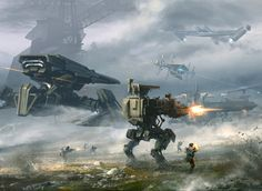 Battle for Polum on Polus during the the Last Intergalactic War between the Imperial Union and the Republic Dominion.