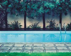 "Bild des guten Lebens? Bill Owens, ""Hockney Painted This Pool"", 1980."