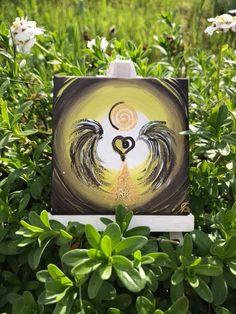 """Heute zu Abend schick ich Euch den kleinen Herzengel der Natur mit der Botschaft:  """"Laß die Natur in Dein Herz, ehre sie- denn Du bist auch """"Natur"""" und möchtest bestimmt wert-geschätzt werden""""  Herzlichst Carmen   Bild/Quelle: Herzengel der Natur by Carmen-Art"""