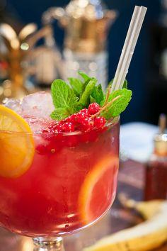 Hannah Wooley's punch Hawksmoor Spitalfields Bar #cocktails #bars #eastlondon
