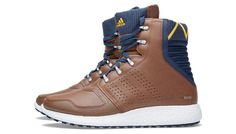 Buy the Adidas Consortium Rocket Boost in Branch from leading mens fashion retailer END. - only Fast shipping on all latest Adidas Consortium products. Adidas Boots, Navy Blue Color, Sneaker Boots, Color Combos, Man, Sneakers Fashion, Hiking Boots, Men's Shoes, High Top Sneakers