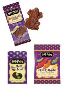 Harry Potter Sweets. What to put in a Universal Orlando themed Easter Basket. Perfect for Easter at Universal or to bring the parks home. #universal #universalstudios #universalorlando #easter #giftidea #easterbasket