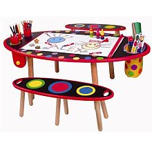 drawing table for twins