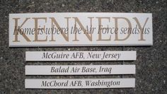 military signs