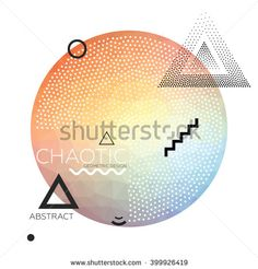 Abstract Geometric Design - stock vector