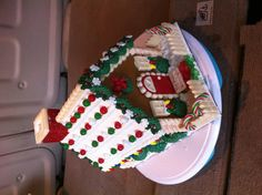 Candy heaven gingerbread house.