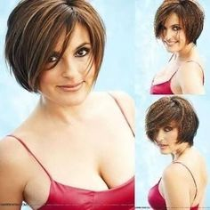 short hair for round faces - Google Search