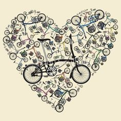 I Love Brompton Bikes by Andy Scullion by Redbubble - Teenormous.com