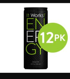 Get your 12 PK of our energy drinks today. ☺💚