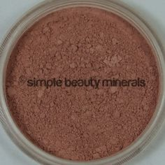 Spice Cheek Color ($16): A soft, rosy brown that is perfect for medium cheek tones. Contains so artificial ingredients and is everything nice! Spice up your makeup routine here: https://simplebeautyminerals.com/product/spice-cheek-color/ #maturebeauty #SimpleIsBeautiful
