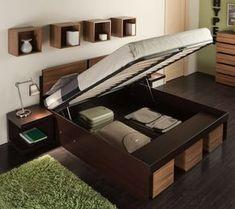 Кровать Hyper с подъемным механизмом.