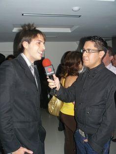 Arnaldo Albornoz entrevistó a Daniel Pereira para el programa la Bomba transmitido por el canal venezolano Televen