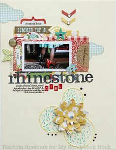 Rhinestone Girl by patricia at Studio Calico