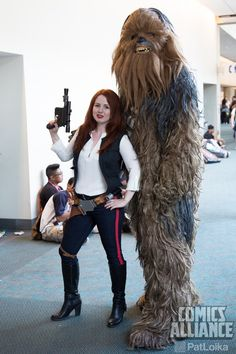 Rule 63 Han Solo and Chewbacca