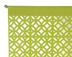 curtains, stencil pattern?