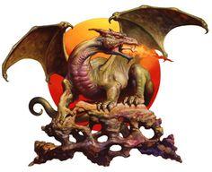 Dragon by Boris Vallejo
