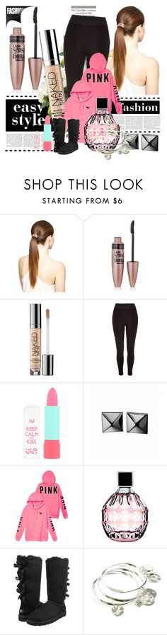 """""""School Outfits"""" by schooloutfits101 on Polyvore featuring Maybelline, Urban Decay, River Island, Rimmel, Waterford, Jimmy Choo, UGG Australia, Vera Bradley and livelaughlove"""