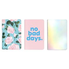 Ban.do 'Hold That Thought' Notebook Set • Rose Parade / No Bad Days