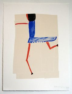Rose Wylie: Blue Girl