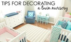 Twin Nursery Decorat