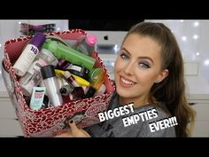MY BIGGEST EMPTIES EVER!!! | Makeup & Skincare Product Reviews | Beauty District - YouTube