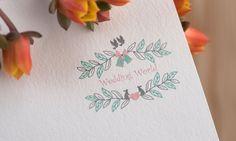 Our logo #logo #designlogo #vintagelogo #retrologo #badgelogo #weddinglogo…