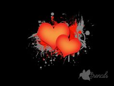 http://crencils.com/downloads/free-two-hearts-on-dark-grunge-background-photo/