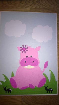 Gitte W Blog: Lyserød Hippo