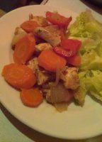 Marinované kuracie kocky so zeleninou Chicken, Meat, Food, Essen, Meals, Yemek, Eten, Cubs