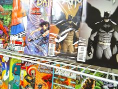 Crossroad Comics, Lauderhill, FL Wall of New Comics Batman Dark Knight