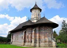 Monastero Moldovita, Bucovina   (studio inspiration)