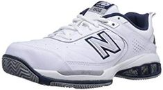 New Balance Men's Tennis US. Size: 10 US. For tennis players looking for superior stability and support, New Balance serves up the New Balance Lightning Dry Liner. Dimensions: width: height: 100 hundredths-inches. C-CAP midsole. New Balance Homme, New Balance Men, New Balance Shoes, Tennis Court Shoes, Golf Shoes, Sports Shoes, Sneakers Mode, Sneakers Fashion, Fashion Shoes