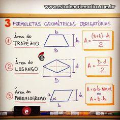 """792 Likes, 22 Comments - Estude Matemática (@estudematematica) on Instagram: """"Vale a pena ver de novo: são só 3 formuletas! Nunca te pedi nada! . . .…"""""""