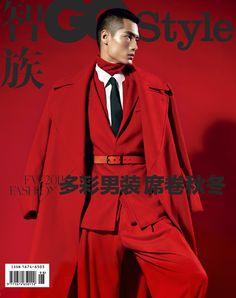 Men can wear red
