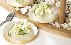 Salt Baked Sea Trout Recipe With Cockles & Potato Salad // Lisa Allen