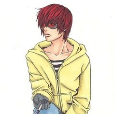 Ok, so I have a tiny obsession with Matt...  { #matt #mail #jeevas #deathnote #death #note }