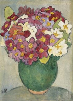 Bouquet de fleursby Louis Valtat French artist associated with the Fauves (mutual art) Monet To Matisse, Henri Matisse, Garden Painting, Painting & Drawing, Georges Braque, Post Impressionism, French Art, Fine Art, Les Oeuvres