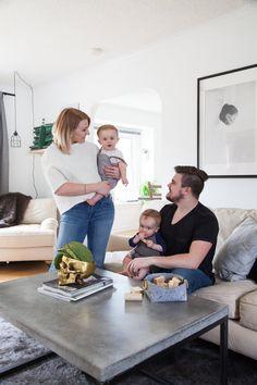 Jaimee & David's Light & Simple Scandinavian-Inspired Home
