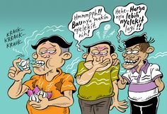 Mice Cartoon Rakyat Merdeka: Bawang